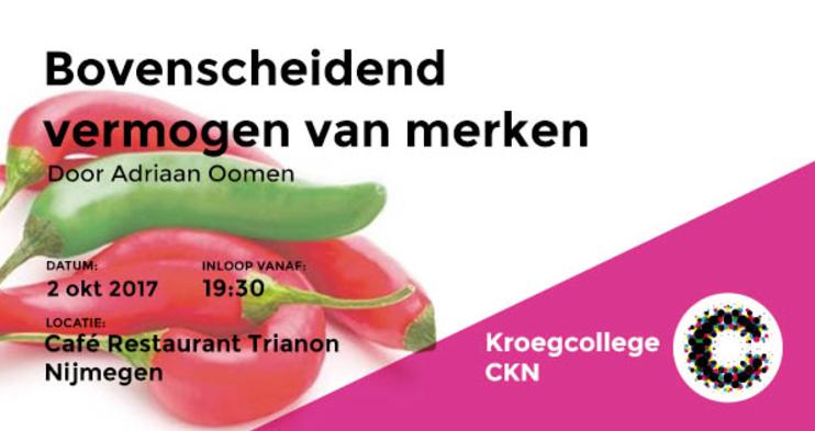2 okt | Kroegcollege Nijmegen